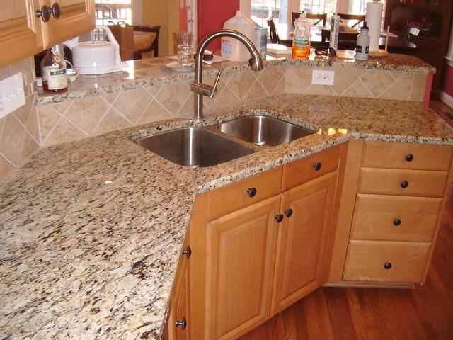 Kitchen Backsplash Granite Or Tile