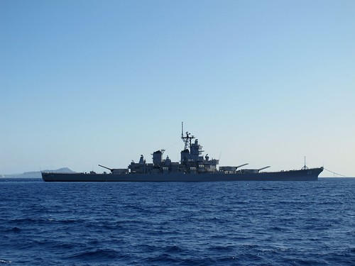 Battleship Missouri goes to sea again.