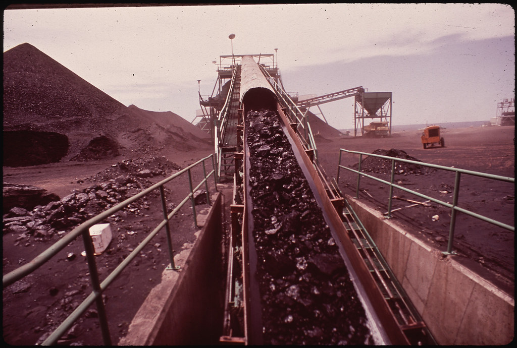 Strip Mining at Black Mesa in Hopi Territory Has Raised Question of Run-Off and Possible Destruction of Hopi Agriculture