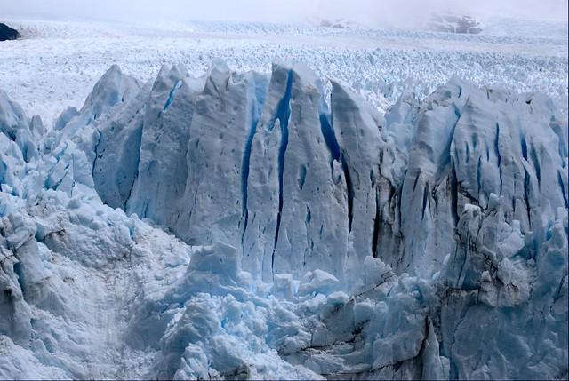 """Detail of the """"Perito Moreno"""" glacier / Detalle del glaciar """"Perito Moreno"""""""