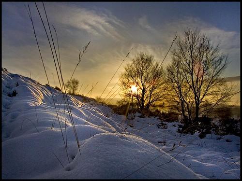 winter sunset snow landscape frost fuji cheshire staffordshire mowcop colf s9600 congletonedge conmgleton