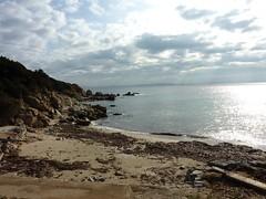 Plage de Ciappili (ne pas prendre le sentier en face, le départ du sentier de Sperone est en retrait de la plage)