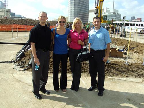 Dallas Convention Center Hotel Groundbreaking Ceremony