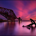 Forth Rail Bridge @ Sunset - Scotland by angus clyne