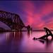 Forth Rail Bridge @ Sunset - Scotland