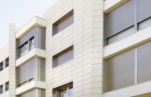 La ceramica como recubrimiento para fachadas - Ceramica para fachadas exteriores ...
