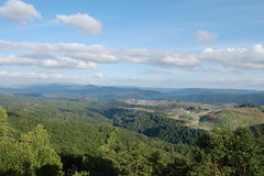 Rrenew Collective posted a photo:	Sitting on top of Black Mountain, looking out over Ison Rock Ridge, 9 Mile Spur, the town of Appalachia, and Stone Mountain there in the distance. That is Looney Ridge in the fore ground, topless, eroding, in the process of a slow decapitation