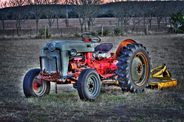 Old Ford Farm Tractors : Old ford farm tractor hdr flickr photo sharing