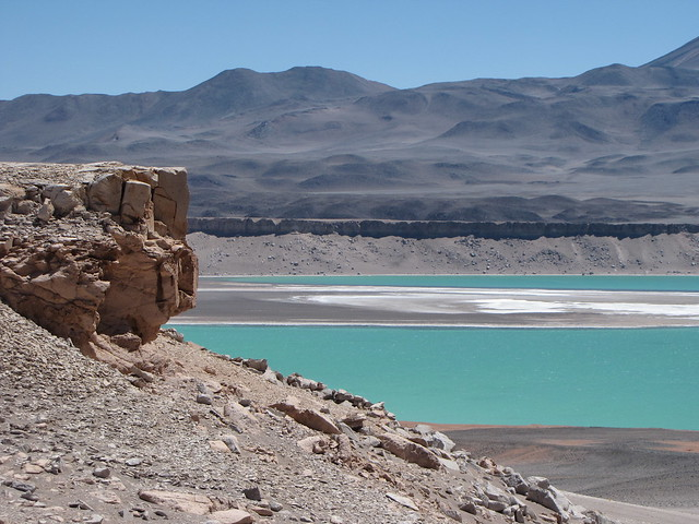 Arriving at Laguna Verde