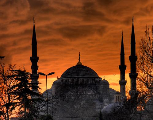 Isztambul - Kék Mecset