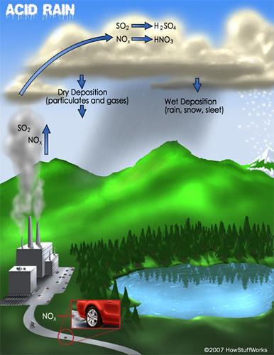 Acid Rain Life Cycle