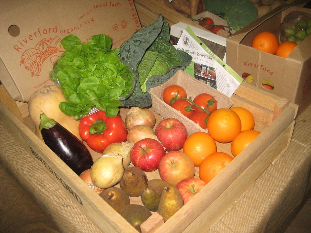 Organic vegetable Boxes