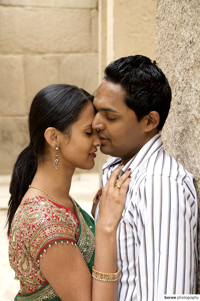Indian Honeymoon In Saree