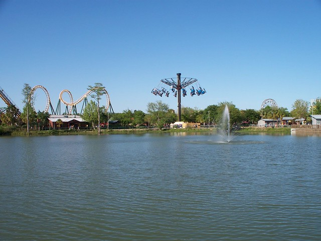 Wild Adventures Theme Park Rides