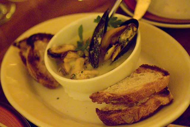 Mussels in Butter Chive Sauce | Flickr - Photo Sharing!
