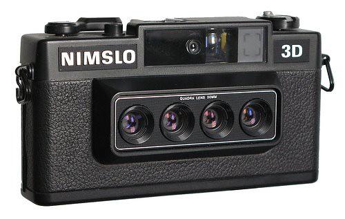 3D-фотографии, снятые на фотоаппараты с системой четырех объективов