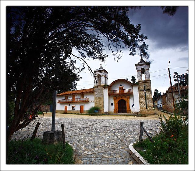 Álayo. La capilla de Santa Cruz primera Proclama de la Independencia del Perú.