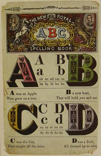 Vintage Book Cover Font : S the new royal spelling book vintage cover graphics