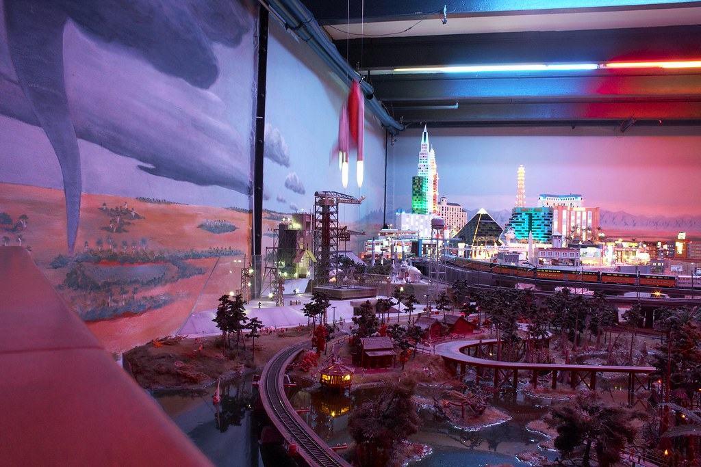 Miniature Las Vegas and Space Shuttle Launch by Andrey Belenko, on Flickr