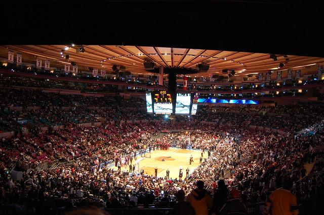 Madison Square Garden New York Knicks Vs Chicago Bulls Flickr Photo Sharing