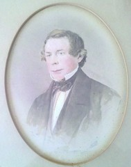 Watercolor portrait of Jacob R. Eckfeldt