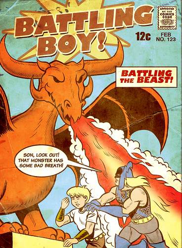 Golden Age Battling Boy