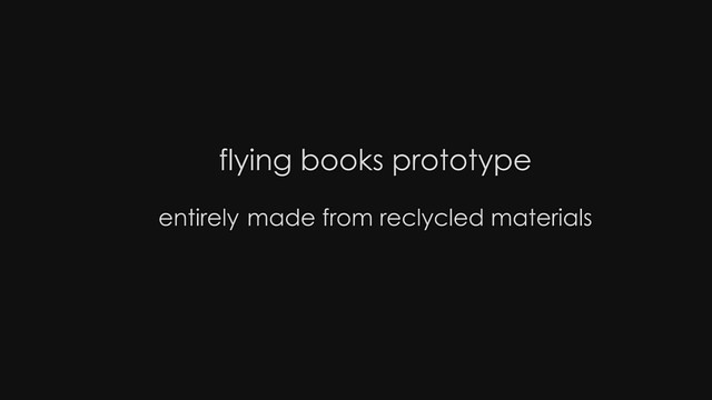 FLYING BOOKS PROTOTYPE (HD)
