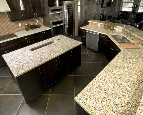 Alternatives To Granite Countertops : Vetrazzo alternative to granite countertops (85) Flickr - Photo ...