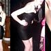 H&M leather dress, Forever21 bib necklace by olivarose