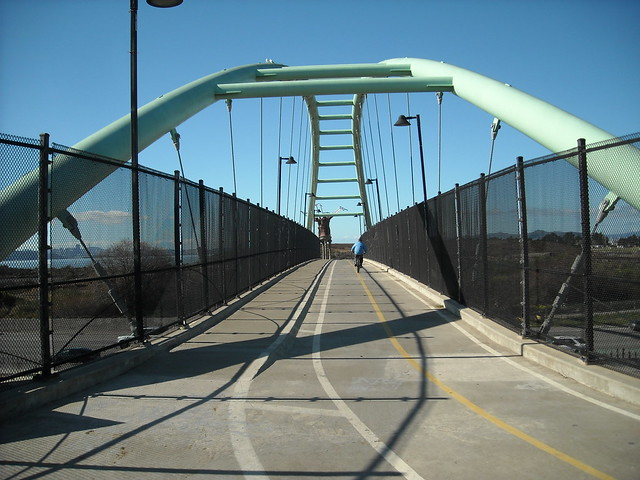 The Berkeley Pedestrian Bridge
