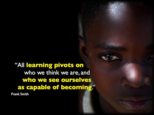 Learning pivots on who we see ourselves as capable of becoming
