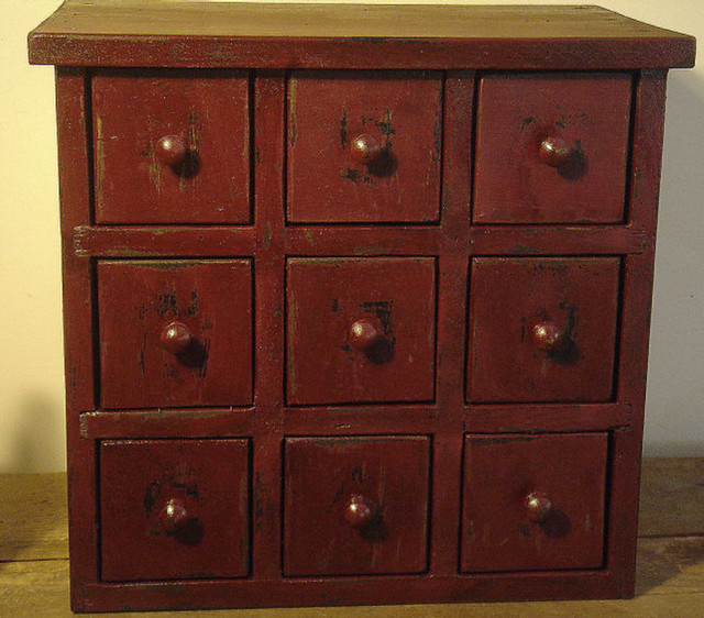 9 drawer apothecary cabinet spice cabinet description for Apothecary kitchen cabinets