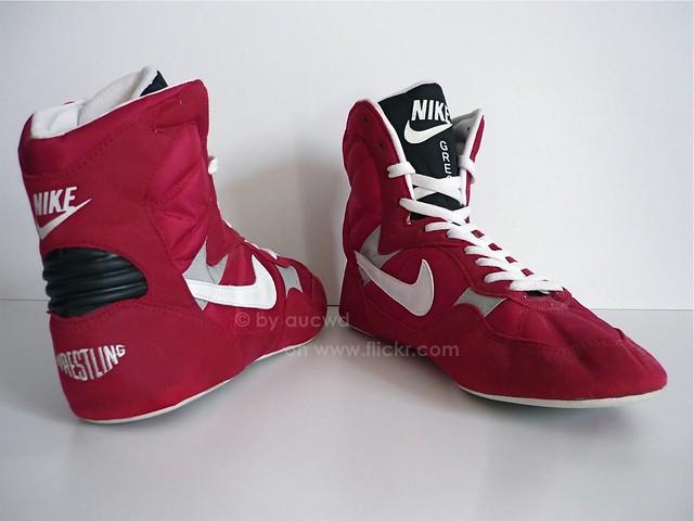 Old Nike Wrestling Shoes