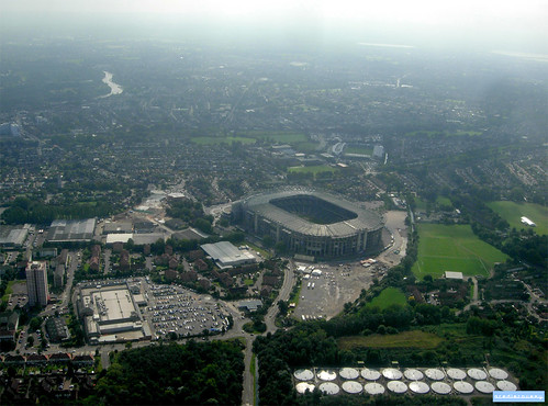 Twickenham Stadium, aerial photograph