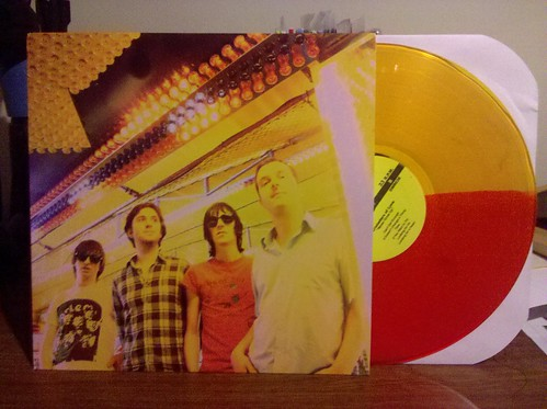 Crusaders Of Love - Never Grow Up LP - Red/Yellow Split Vinyl by factportugal