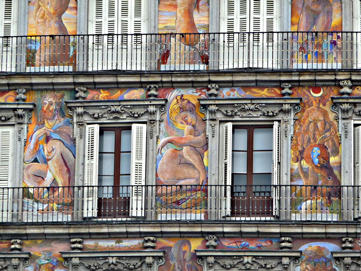 frescos fachada casa de la panadería