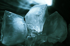 melting, ice, macro photography, close-up, crystal, freezing,