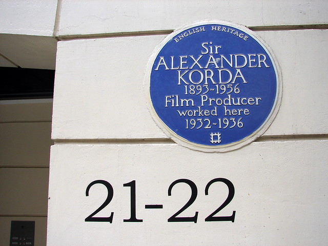Header of Sir Alexander Korda