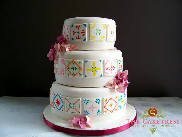 Mexican Themed Wedding Cakes pictures