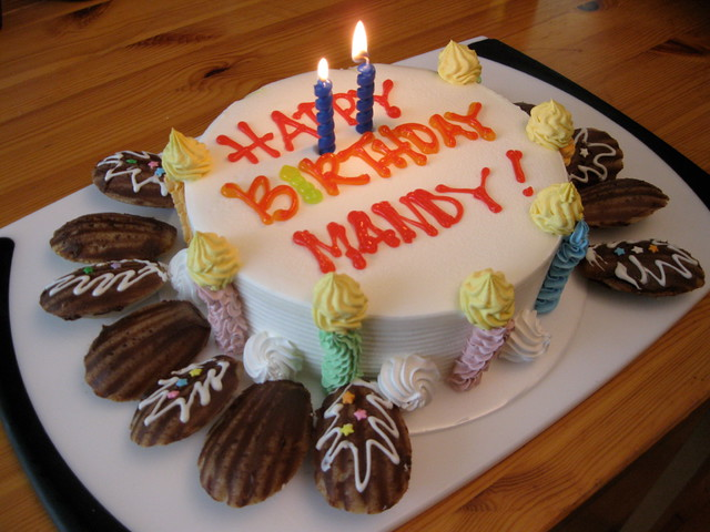 Birthday Cake Nisha Images : > Happy Birthday Mandy!