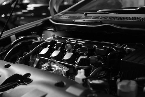 Civic i-VTEC Engine from Flickr via Wylio