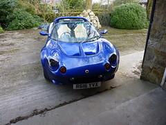 tvr(0.0), tvr(0.0), race car(1.0), automobile(1.0), lotus(1.0), vehicle(1.0), performance car(1.0), automotive design(1.0), land vehicle(1.0), lotus elise(1.0), supercar(1.0), sports car(1.0),