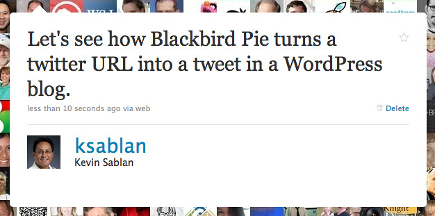 Snapshot of a tweet from @ksablan