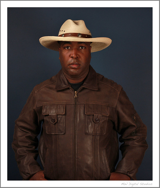 Man Wearing Cowboy Hat And Brown Leather Jacket   Flickr ...