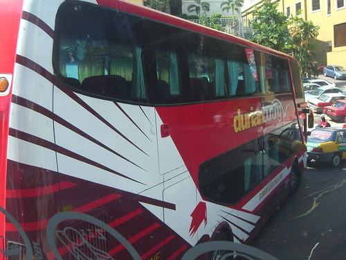 Durian Burung double decker bus - Puduraya Bus Station