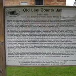 (Old) Lee County Jail Sign