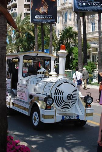 Croisette - Tourist Train & Robin Hood Posters - Cannes Film Festival 2010