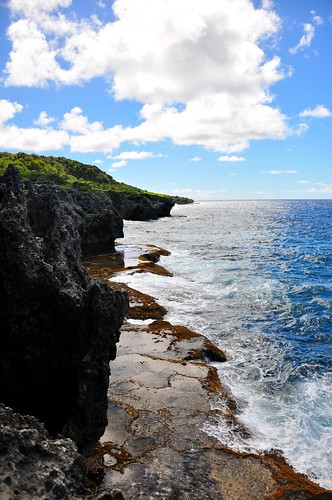 blue usa beach coral rock hiking trail pacificocean reef tidepools guam pagat marianatrench marbocaves