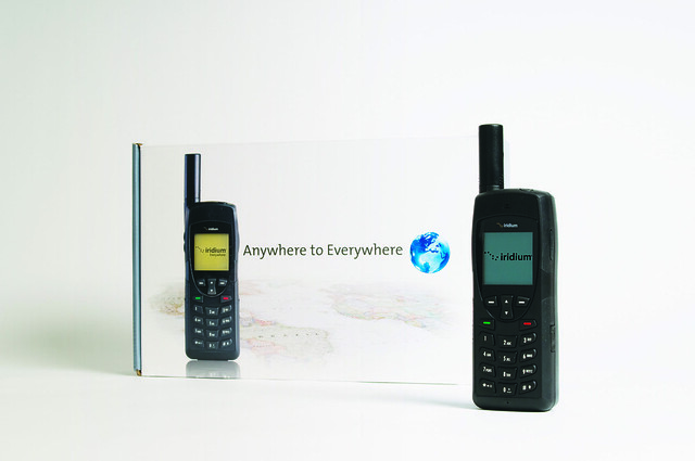 Iridium Managerial Sat Phone