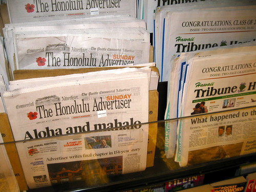 newspaper honoluluadvertiser finaledition